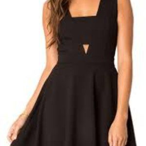 Black Swan Coleen Cut Out Dress Black Small